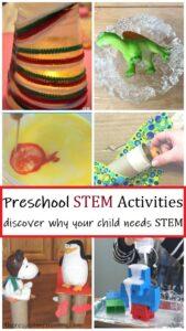 preschooler STEM activities