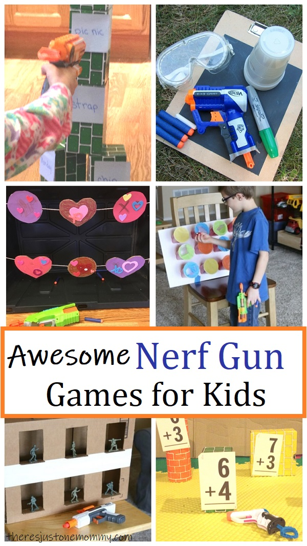 fun games with Nerf guns