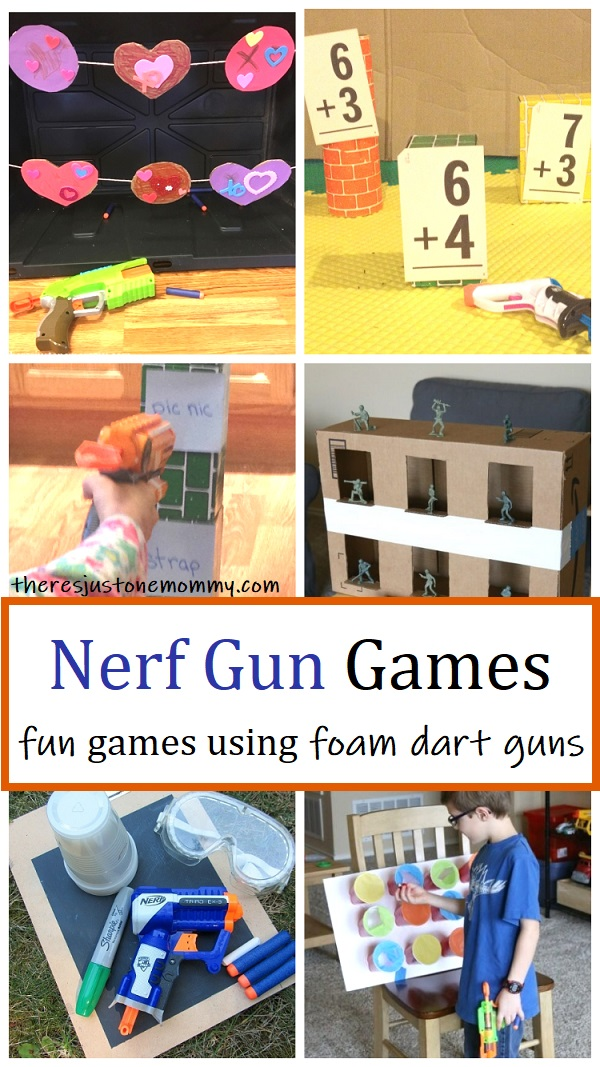 nerf gun game ideas for kids