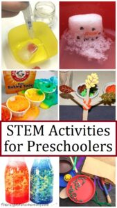 fun STEM activities for preschoolers