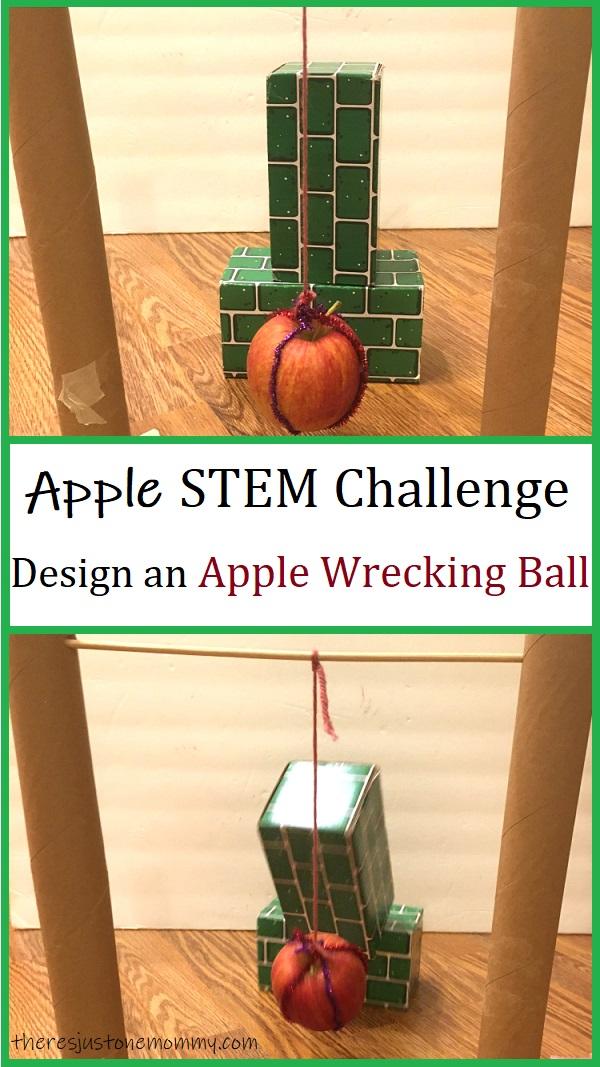 wrecking ball STEM challenge