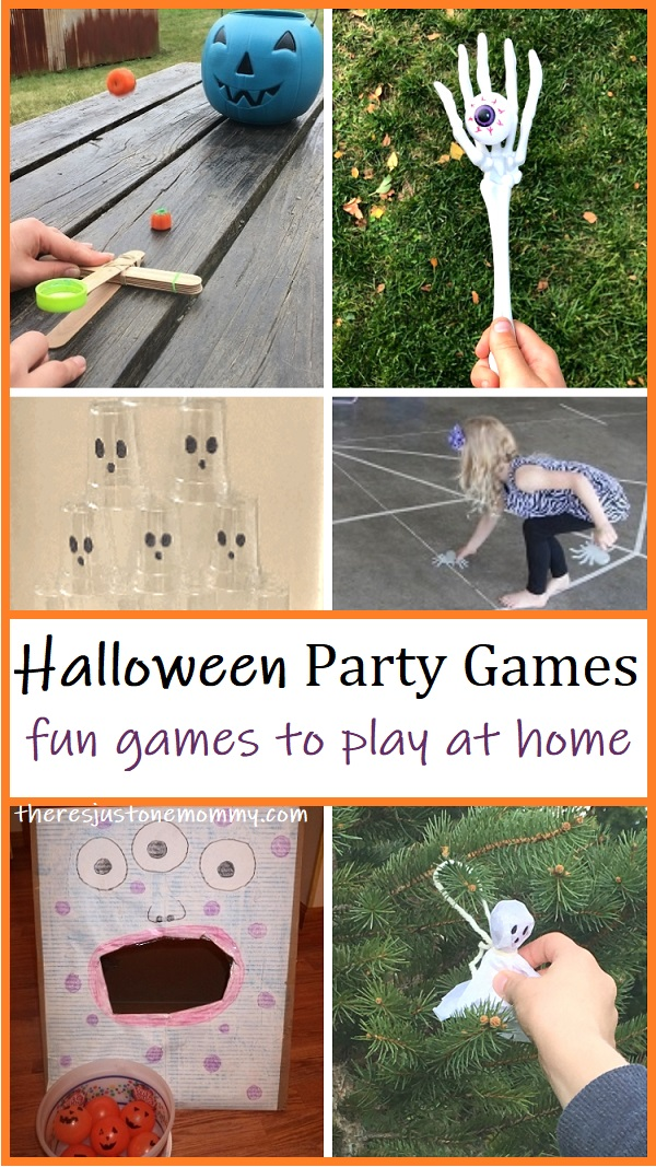 Halloween party games to play with your family
