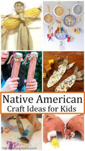 kids Native American crafts