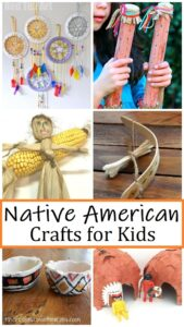 Native American crafts to teach about early American culture