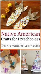 preschooler crafts about Native Americans