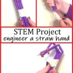 how to make a mechanical hand with straws