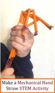 engineering a mechanical hand with straws
