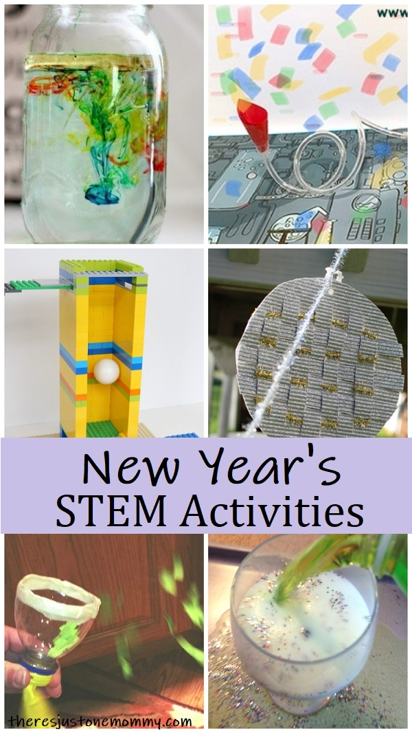 kids STEM Activities for New Year's
