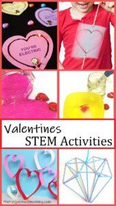 Valentine themed STEM activities