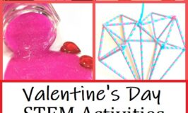 fun STEM activities for Valentines Day