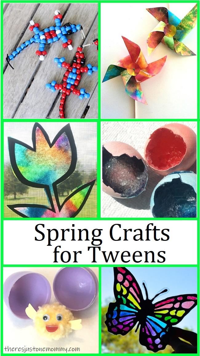 spring craft ideas for tweens
