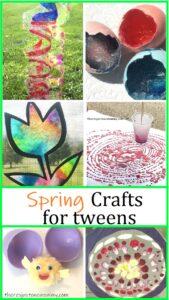 spring crafts for tweens