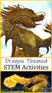dragon themed STEM activities