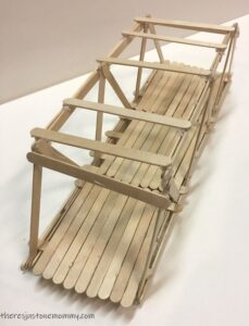 craft stick bridge activity for kids