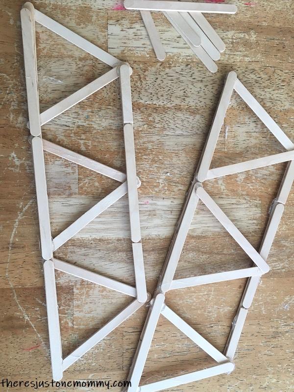 how to make a craft stick bridge